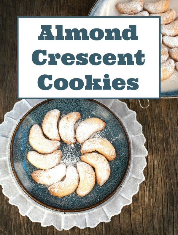 ... for the family. This is a guide about making almond crescent cookies