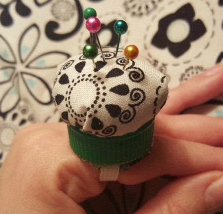 Pin Cushion Ring Teaser