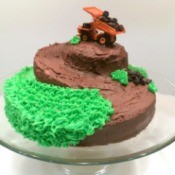 Dump Truck and Mountain Cake