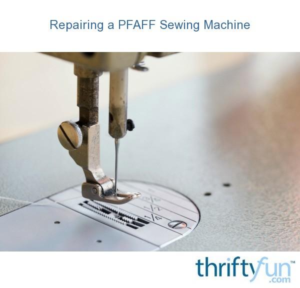 repairing singer sewing machine