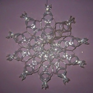 Making a 6-Pack Ring Snowflake