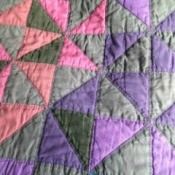Making an Amish Style Quilt