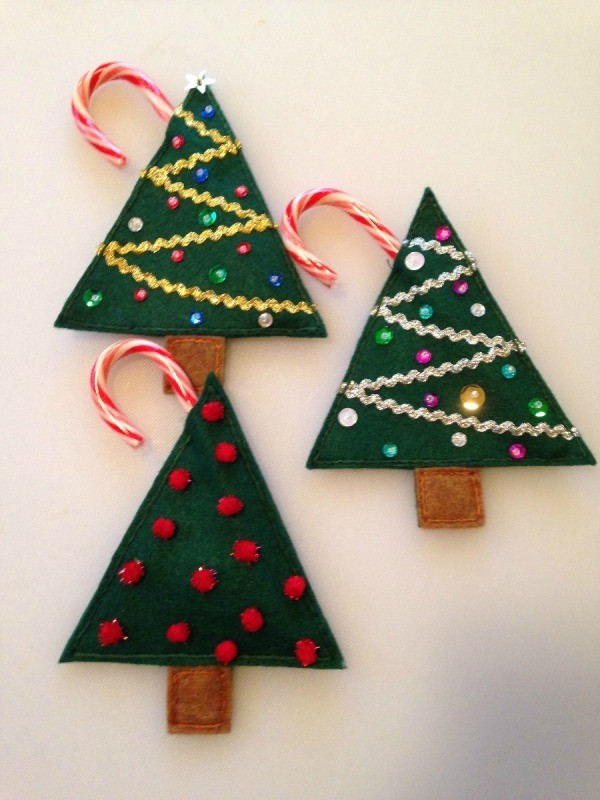 3 Christmas Tree Set
