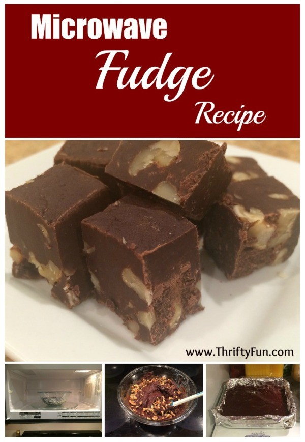 Microwave Fudge Recipe With Condensed Milk And Chocolate Chips