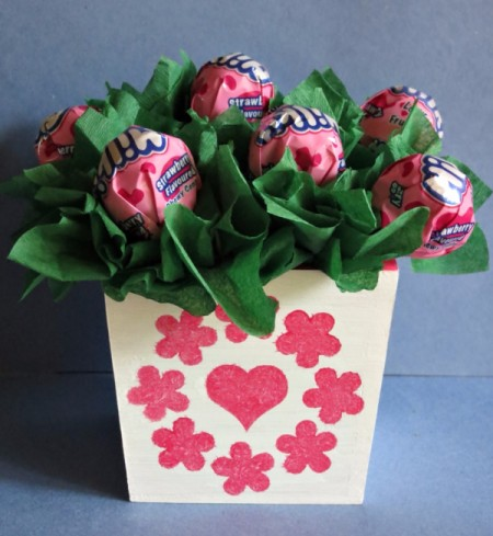 Sweet Lollipop Valentine's Day Arrangement