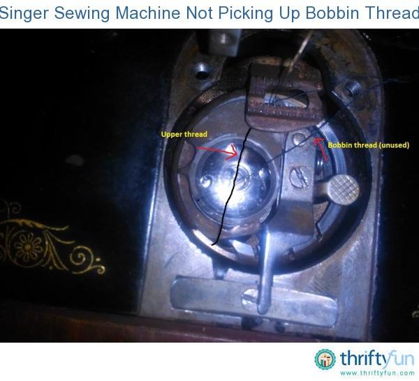 singer sewing machine troubleshooting bobbin not catching