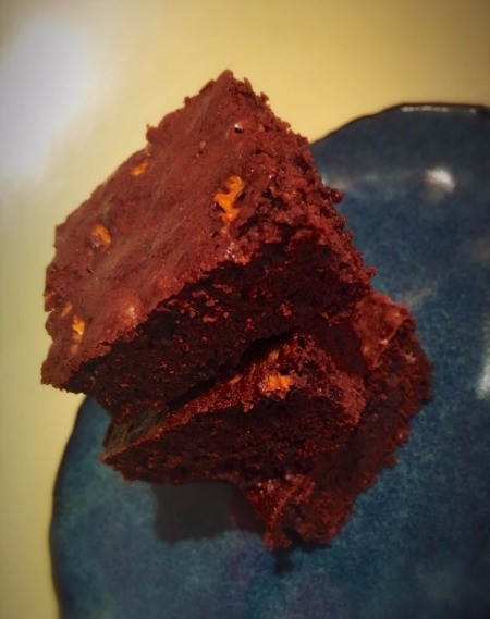 Chocolate Orange Fudge Brownies