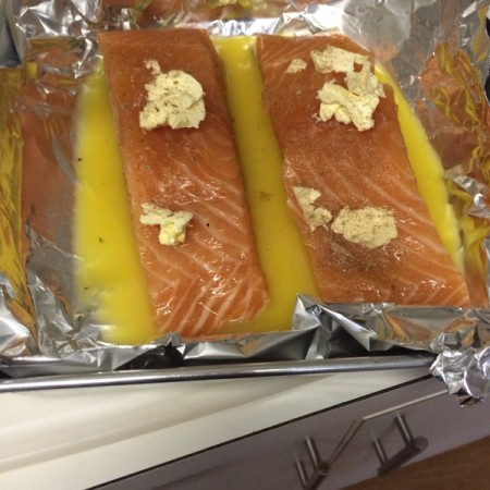 Orange Juice Salmon