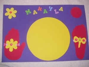 Personalized Foam Placemats