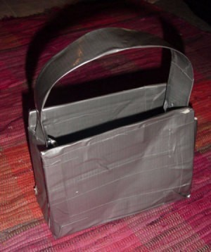 Making a Duct Tape Purse