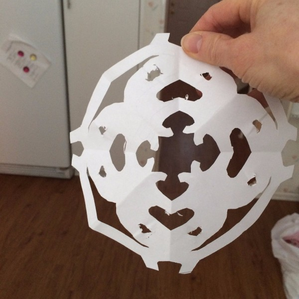 finished name snowflake