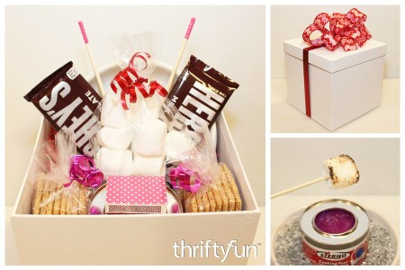Making a S'mores for Two Gift Box