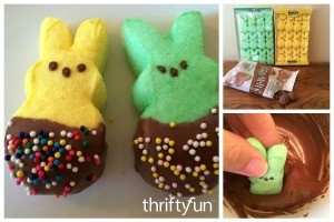 Making Chocolate Dipped Peeps