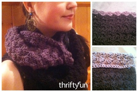 Making a Textured Half Shell Cowl