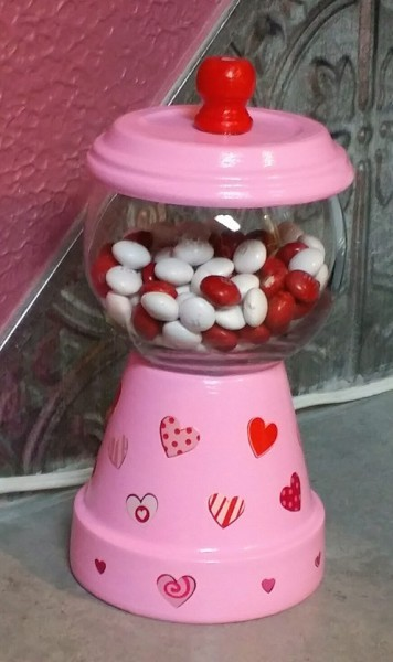 Making A Terra Cotta Gumball Machine Thriftyfun