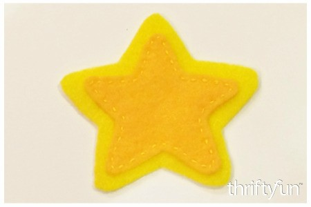 Making a Felt Star Ornament
