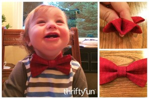 Making an Infant Bow Tie