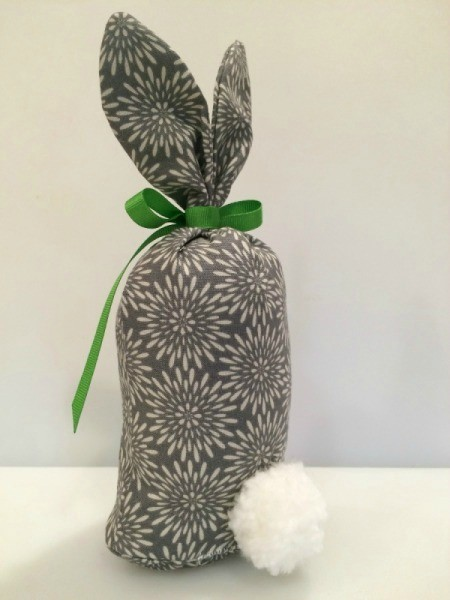 Fabric Bunny Doorstop