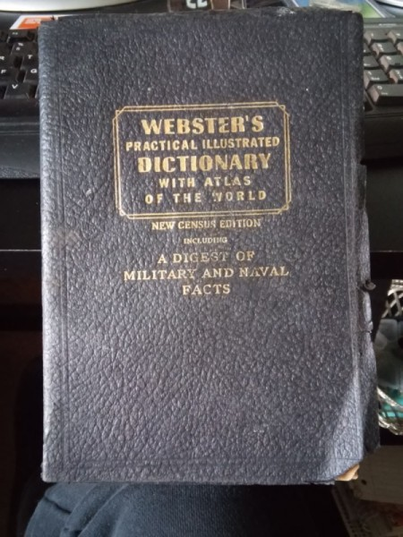 1942 Webster's Dictionary
