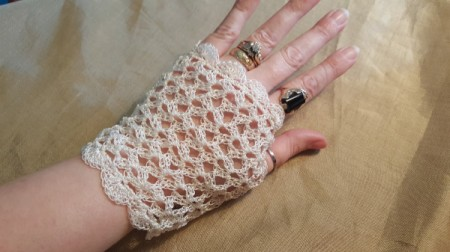 Time For Tea Lace Gloves