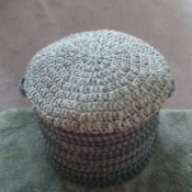 finished foot stool