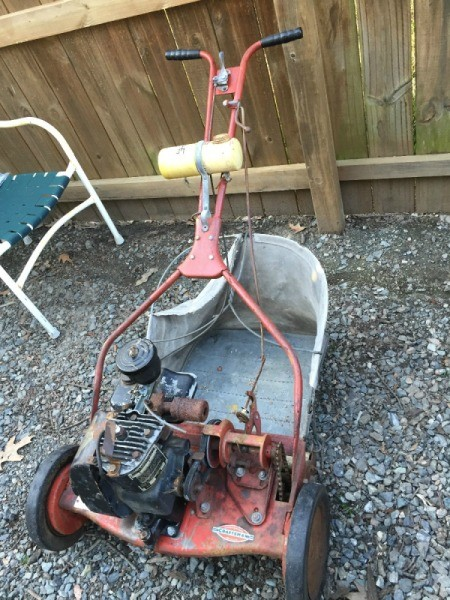Old Craftsman Lawn Mowers : Determining the value of old reel mowers thriftyfun