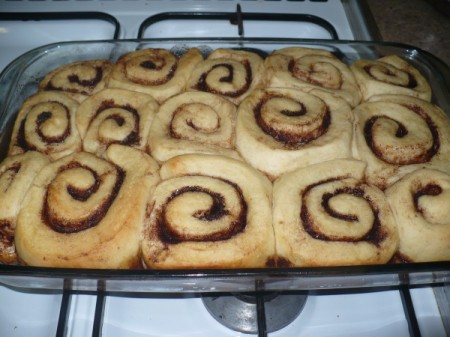 Homemade Cinnamon Rolls in One Hour