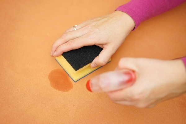 cleaning urine on a suede couch thriftyfun. Black Bedroom Furniture Sets. Home Design Ideas
