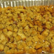 Best Homemade Croutons - finished croutons