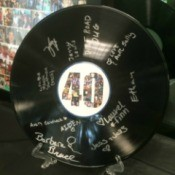 Signed Record Party Keepsake