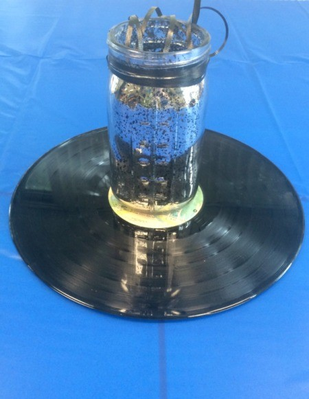 Record Table Centerpiece