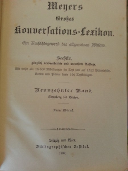 cover page in German