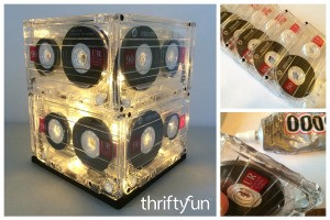 Making a Cassette Tape Lamp