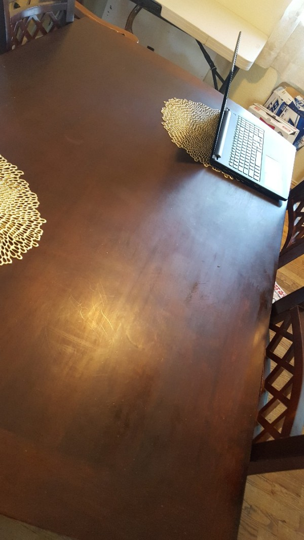 Fixing wood furniture damaged by household cleaners for Hardwood floors dull after cleaning