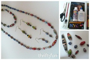 Making Magazine Bead Jewelry