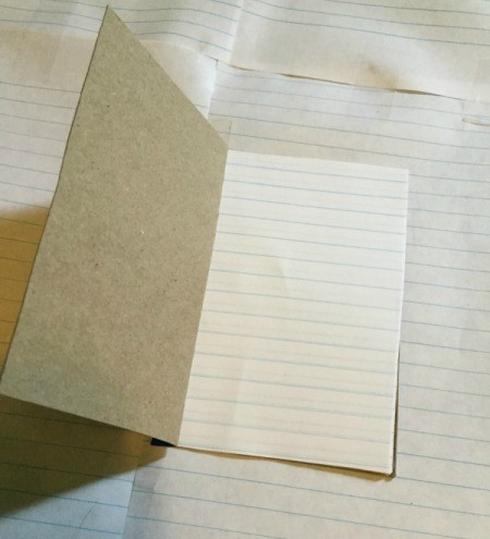 Recycled Box Notebooks