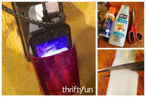 Making a Shampoo Bottle Mobile Phone Charging Station