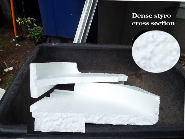 Use Dense Styrofoam In Plant Containers