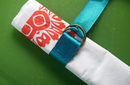 Easy Ribbon Tie for Serviettes (Napkins)