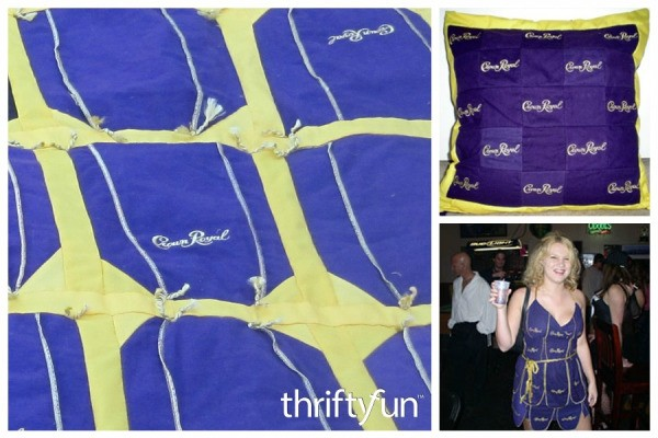 Crafts Using Crown Royal Bags