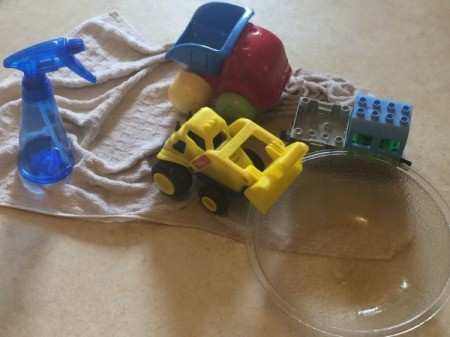Spray Bottle for Toddler Play
