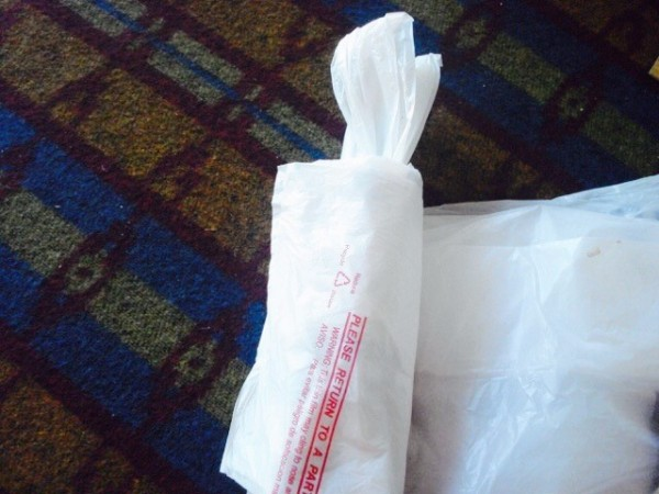 Diy Plastic Bag Dispenser Thriftyfun
