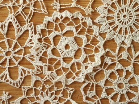 Uses for Crocheted Doilies