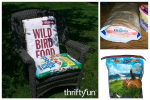 Reusing Pet Food Bags
