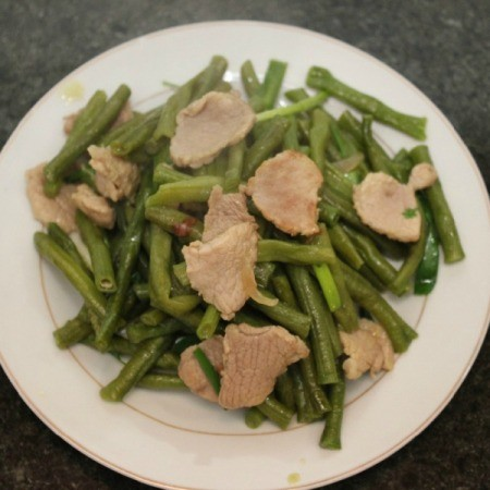 Pork With Green Beans