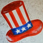 Uncle Sam Independence Day Placemat