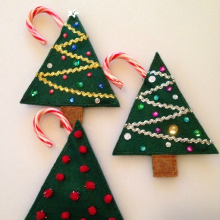 Felt Christmas Treat Holders