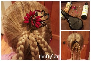 Victorian Braided Up-do Hairstyle