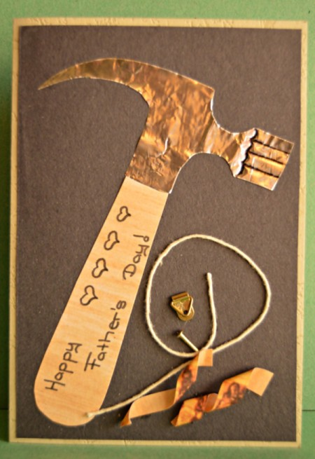 Tools for Father's Day Card