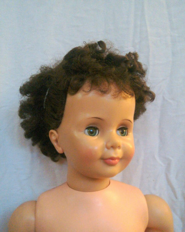 Cleaning a Vintage Doll